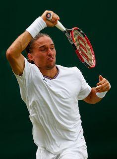 Alexandr Dolgopolov Photos - Day Four: The Championships - Wimbledon 2015 - Zimbio