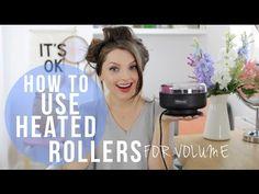 Heated Rollers Tutorial for Volume!   essiebutton