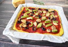 Vegan Polenta Pizza