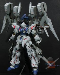 "MG 1/100 Sinanju Stein ""Shinigami"" GBWC 2013 Entry by Mechaman (Team Nexus) 