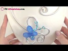 ► [ TUTO ] Collier base en fil aluminium 4 mm - YouTube