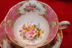 Royal Albert Lady Carlyle Vintage Cup Saucer  by TeaAttheBrits, $78.00 #teamdream