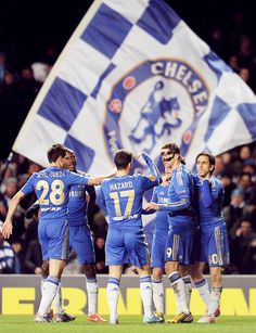 Chelsea FC!!! Cant wait to see them :)