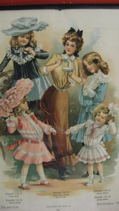 Victorian fashion for the whole family!