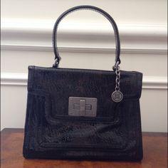 Simply Vera Vera Wang Bags - Simply Vera Patent Leather Satchel Purse