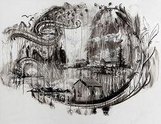 Gregory Euclide-white board 'temporary art'