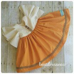Fall Baby Dress Girl Autumn Dress Boutique Fall by BestDressEver
