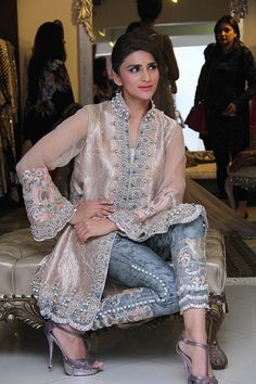 Ammara Khan brought a touch of Lahore's signature dazzle to Ensemble Karachi last week with an exhibition of the designer's fall/winter bridals and ready-to-wear off the rack formals. …