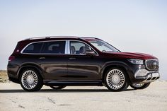 With Rolls-Royce, Bentley, Range Rover, and even Aston Martin entering the space, Mercedes-Benz isn't going to let the ultra-luxury SUV market go unchallenged. Mercedes Benz Maybach, New Mercedes, Benz Suv, Daimler Ag, Luxury Suv, Luxury Life, Air Conditioning System, Security Cameras For Home, 4x4 Trucks