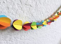 Party Garland, Mellow Yellow, Macaroni, Birthday Parties, 3d, Engagement, Color, Anniversary Parties, Macaroons