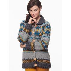 Cowichan Style Raglan Cardigan