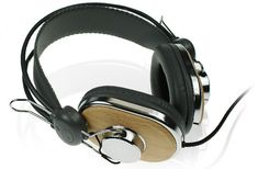iWave Eco-Wood Headphones
