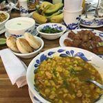 Mondongo, chicharrones con plátano maduro y arepa  #linam_segurablog💼eventos  #linam_segurablog👈🏼eventos  #blogpost#bloginstagram#restaurants#instafood#foodideas#foodblog#restaurantes#restaurant#blogs#recetaspaisas#instablog#instafood#foodideas#foodblog#blogpost#linam_segurablog