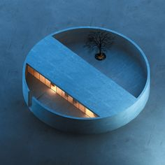 The Ring House & Atelier by MZ Architects. Image: MZ Architects, The Ring House, Architecture. Interior Architecture, Landscape Architecture, Interior Design, Pavilion Architecture, Watercolor Architecture, Architecture Diagrams, Architecture Portfolio, Circular Buildings, Circle House