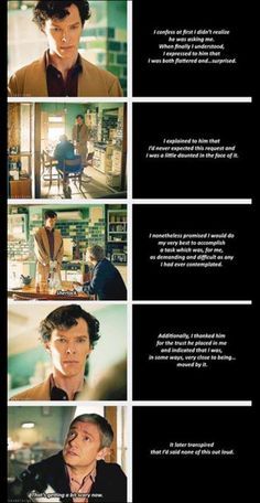 Ok, so I'm not a fan of Cumberbatch's Sherlock, but I just have to pin this. This is awesome and pretty much describes precisely and cleverly what it is like being an INTJ in this world. I am impressed, BBC Sherlock, I am impressed. Sherlock Bbc, Sherlock Fandom, Jim Moriarty, Sherlock Quotes, Watson Sherlock, John Watson, Johnlock, Fangirl, Baker Street