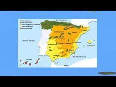 Tipos de climas en España.