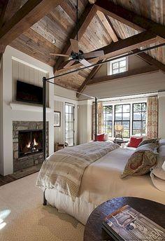 Amazing Farmhouse Bedroom Ideas 42