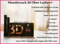 The differences in our New 3D+ mascara. Amazing right? https://www.youniqueproducts.com/lookinglovelywithkarenmichelle
