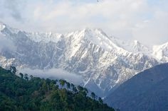 Dhauladhar Ranges from Palampur, Kangra ( धौलाधार )Himachal, India  More childhood memories....how much I miss these views....