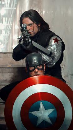 Marvel Avengers Movies, Marvel Actors, Marvel Heroes, Marvel Art, Bucky Barnes, Winter Soldier, Marvel Background, Marvel Images, Avengers Pictures