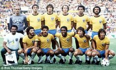 Style Icons No9 Brazil's 1982 team at the Spain World Cup    Valdir Peres, Leandro, Oscar, Luisinho, Cerezo, Junior, Socrates, Serginho, Zico, Eder, Falcao    This Brazil team was made up of great players, and romantics everywhere were willing them to World Cup glory, but Italy beat them in an quarter-final in Barcelona that was so memorable it reduced a watching Sir Bobby Charlton to tears.