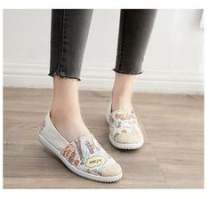 Espadrilles Luxury Shoes, Casual Shoes, Espadrilles, Slip On, Beige, Sneakers, Shopping, Women, Fashion