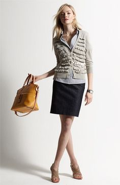 work outfit Outfits for Women Attire Outfit Cute Work Outfits, Fall Outfits, Fashion Outfits, Outfit Work, Outfit Ideas, Work Looks, Looks Style, Office Fashion, Work Fashion