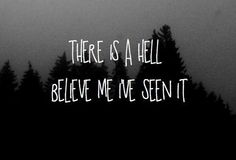 """""""There is a Heaven… let's keep it a secret.""""  - Bring Me The Horizon"""