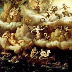 Giulio. Romano,  Allegory-of-immortality-