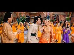 Excerpt of a dance sequence in a Bollywood movie.
