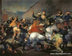 Francisco de Goya - The Second of May 1808
