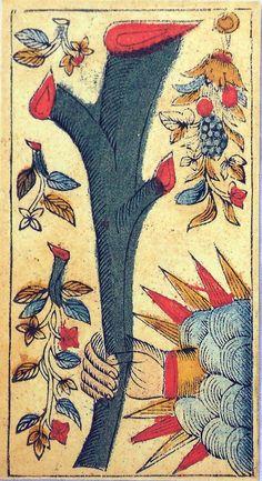 Tarocco di Besançon  Printed by Il Meneghello in 2000. Limited edition 1000 decks.