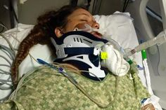 Asking prayer for precious Kasandra Salazar. She was in a terrible car accident last week. She has brain damage. And has a broken leg, hip and shoulder. She has yet to open her eyes. Doctors don't know what the future holds for her. Please stand in faith and agreement, that God will do the miraculous and heal her to 100% healthy and whole!!! Please share and keep this prayer chain going!!! Thanks and God bless you!!!