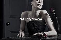 Kristen McMenamy for Balenciaga. by Steven Klein