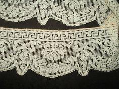2 Darn Net Lace Dress Trim Grecian Influence Vintage Edwardian 1920s Era SOLD - The Gatherings Antique Vintage