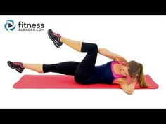 10 Minute Abs Workout - Fitness Blender Abs and Obliques Routine - YouTube