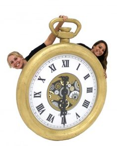 Giant 3D Pocket Watch (Gold)