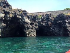 Spiaggia di basalti lavici, Ognina, lungomare di Catania