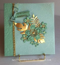 Botanical Blooms Mini Album by Sweet Irene - Cards and Paper Crafts at Splitcoaststampers Stamping Up Cards, Pretty Cards, Sympathy Cards, Flower Cards, Creative Cards, Anniversary Cards, Greeting Cards Handmade, Scrapbook Cards, Homemade Cards