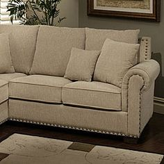 @Overstock - Sectional features high quality Italian linen fabric Brass nailhead designs adds sophisticated look Solid frames featuring kiln-dried hardwoods http://www.overstock.com/Home-Garden/Santa-Barbara-Fabric-Sectional/6315945/product.html?CID=214117 $1,999.99