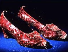 The Wizard of Oz Shoes...... Love a little glitter :)