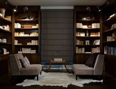 Home Library For Reading Room Design home trends design photos, home design picture at Home Design and Home Interior Library Bar, Home Library Design, Modern Library, House Design, Library Ideas, Cozy Library, Library Room, Dream Library, Modern Room