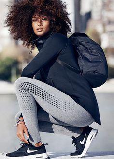 Model, pose, gear…everything