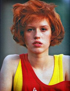 Molly Ringwald. That hair is everything.