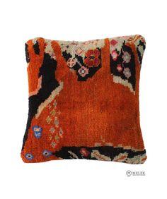 "Handmade Carpet PILLOW CUSHION COVER - Carpet Rug Anatolian Turkish 16"" x 16"" #Anatolian"