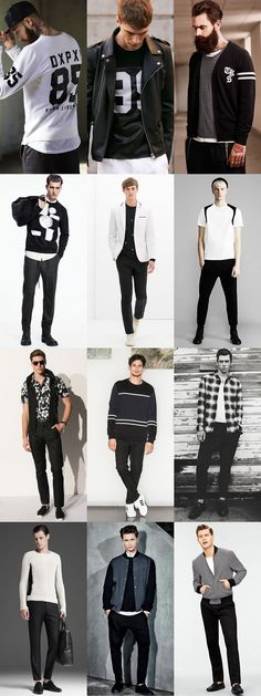 Ways To Wear Monochrome in 2014 Autumn/Winter: Casual/Smart-Casual Monochrome Lookbook Inspiration