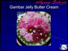 Membuat Trend kekinian Jelly Buttercream - YouTube