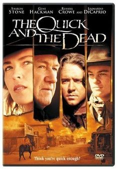 The quick and the dead 1995 Movies, Old Movies, Vintage Movies, Great Movies, Comedy Movies, The Dead Movie, Leonardo Dicaprio Movies, Vintage Horror, Minimalist Poster