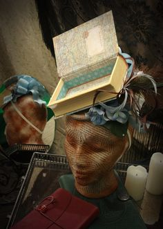 Women's whimsical book hat  The Alice by TheSistersBrimm on Etsy, $125.00