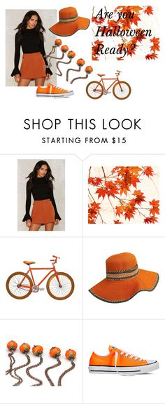 """""""Are you Halloween Ready?"""" by kapkadesign ❤ liked on Polyvore featuring WALL, Martone Cycling Co. and Converse"""